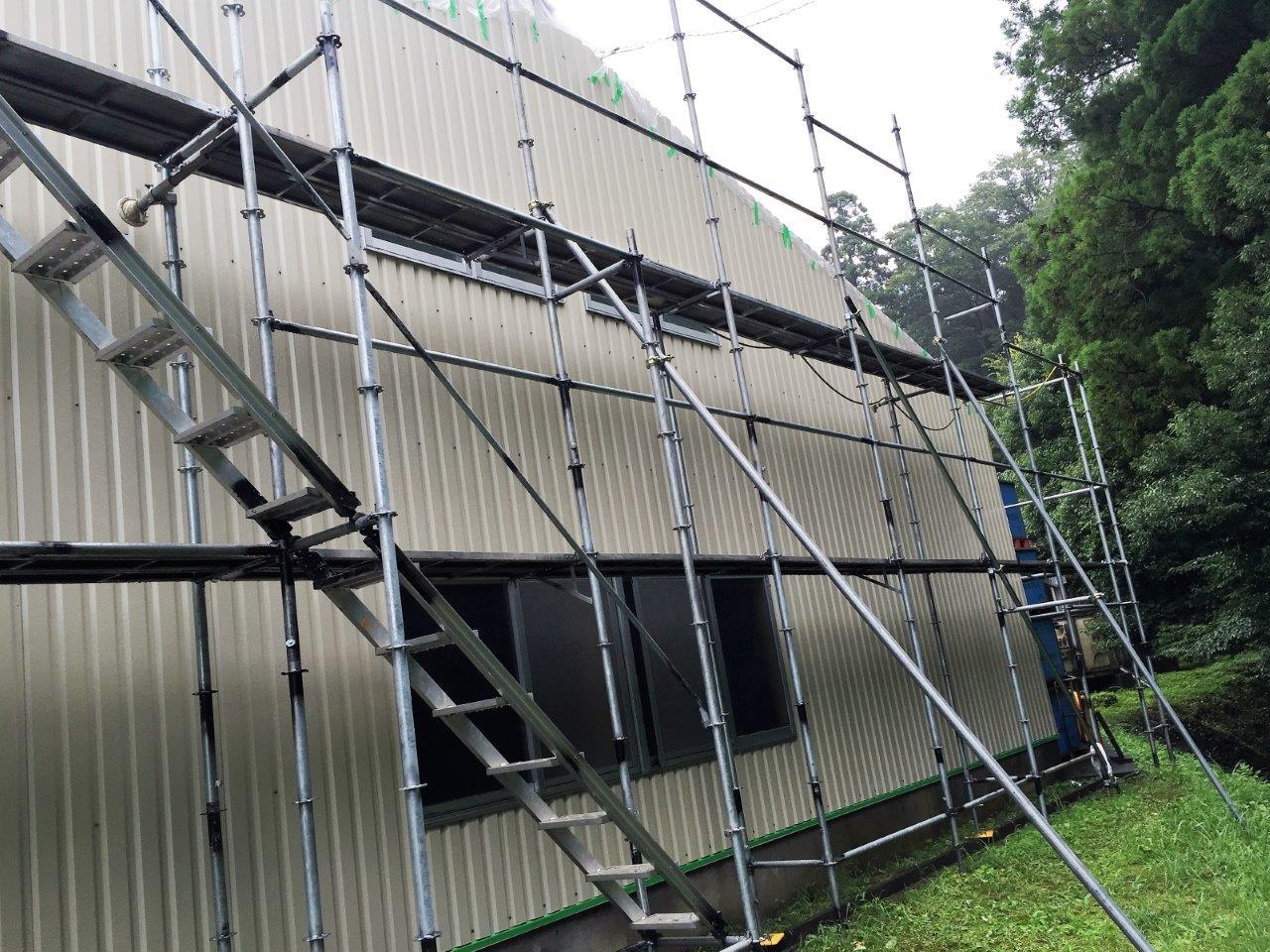 S社工場屋根・外壁改修工事